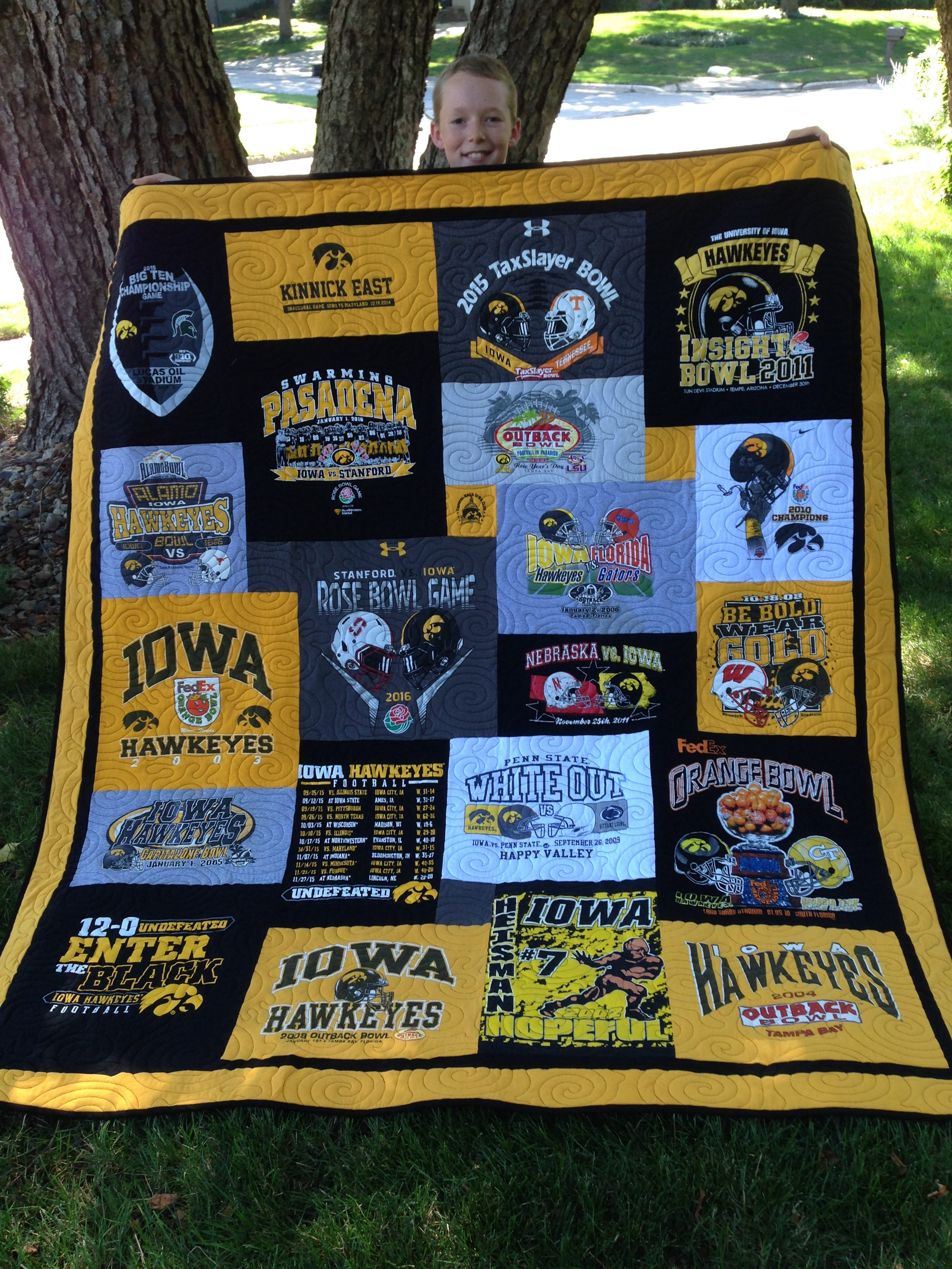 Campus T Shirt Quilts By Cindy Swanson