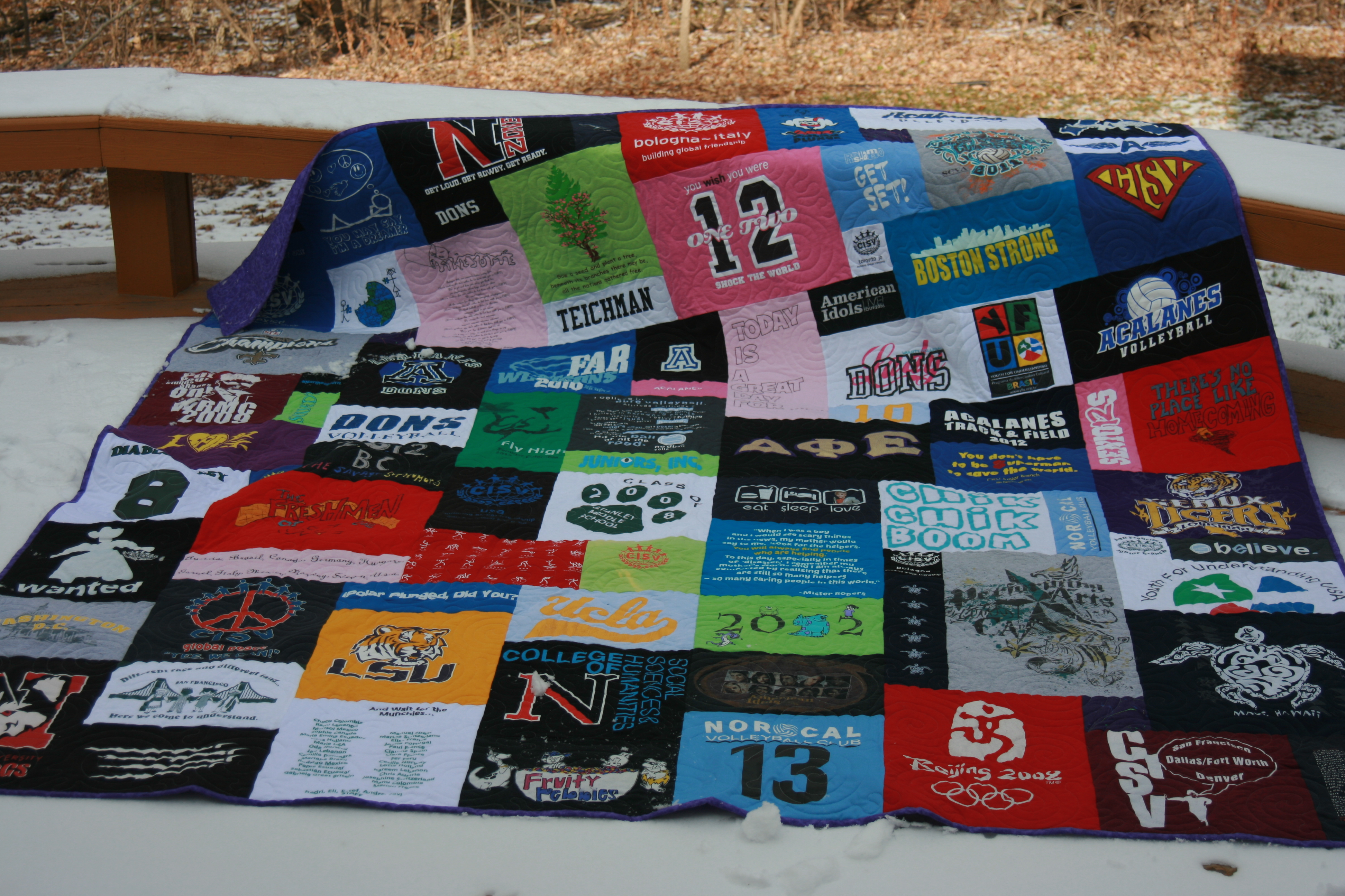 Black quilted t shirt - Tshirt Quilt Mosaic T Shirt Quilt Graduation Tshirt Quilt