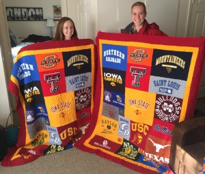 Campus T-shirt Quilts by Cindy Swanson : quilts made from tee shirts - Adamdwight.com
