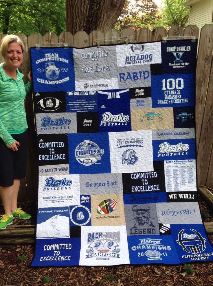 T Shirt Quilt Photos Campus T Shirt Quilts By Cindy Swanson