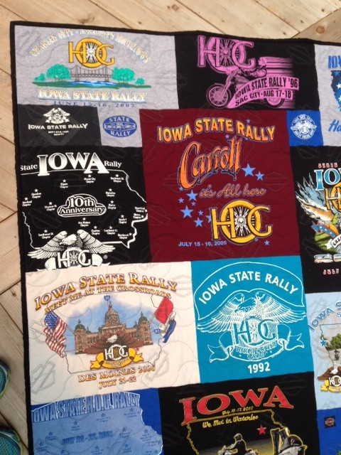 Created for the Harley Owners Group Iowa Road Rally 2015